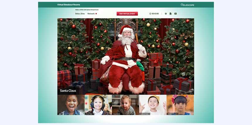 Santa Meet & Greet Breakout Room