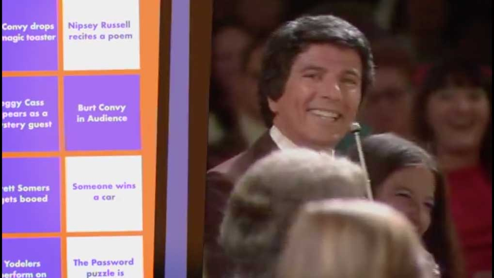 gameshow host with Buzzr BINGO Screenshot