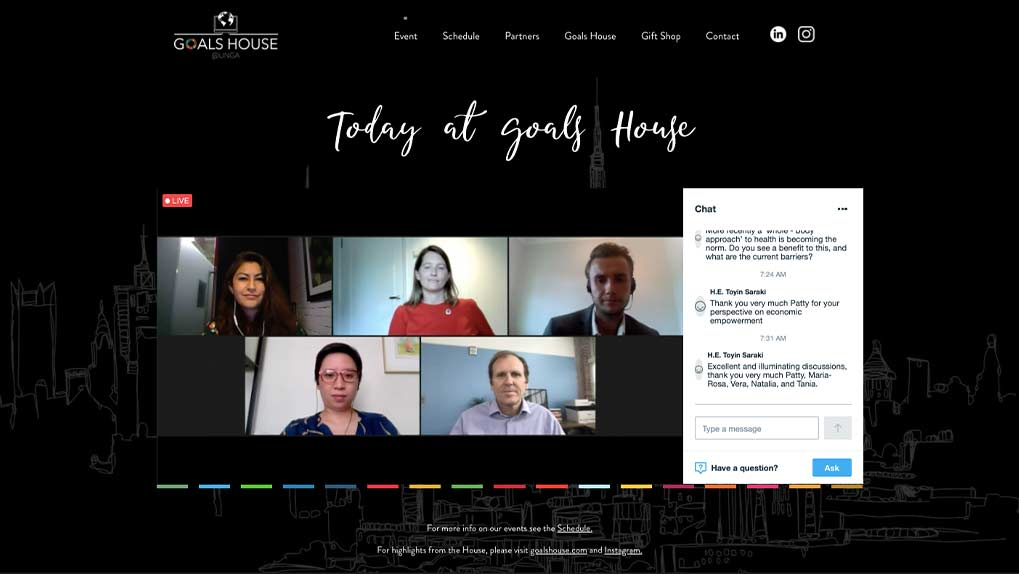 live stream virtual conference
