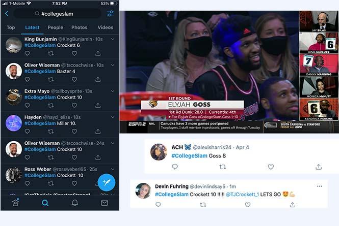 fan votes on twitter
