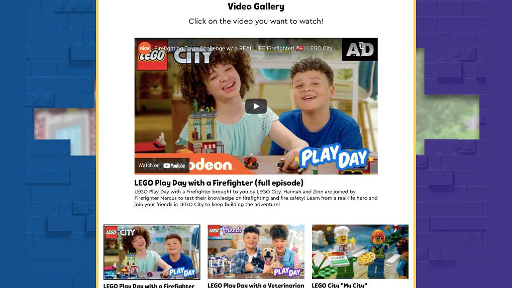 hub video gallery