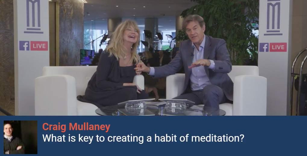 Dr Oz and Goldie Hawn