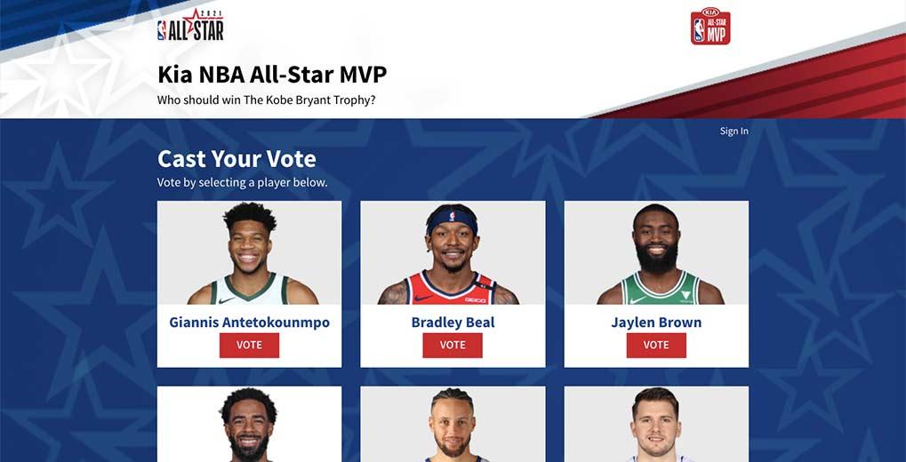 All-Star MVP online vote