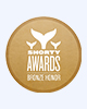Shorty Awards Bronze Logo