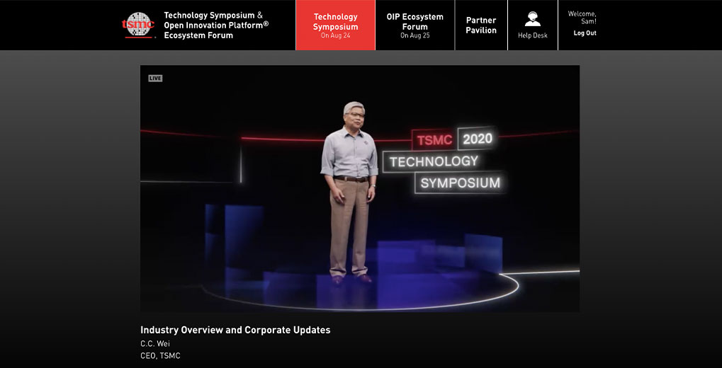 technology symposium live stream