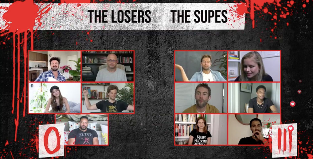 the boys cast the losers and supes