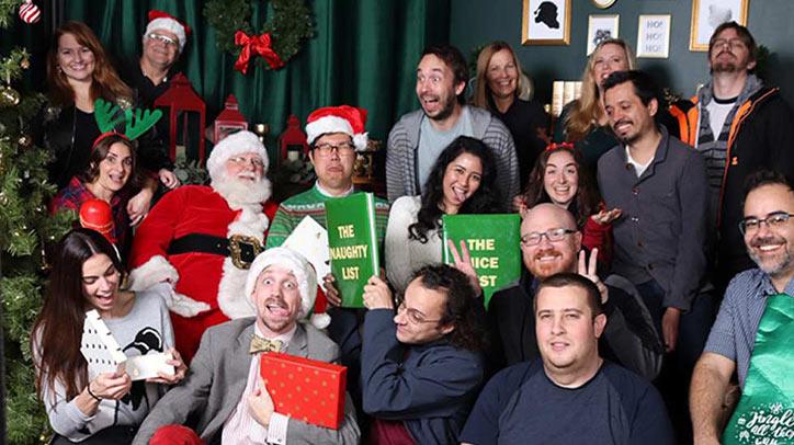 Telescope LA group on Christmas