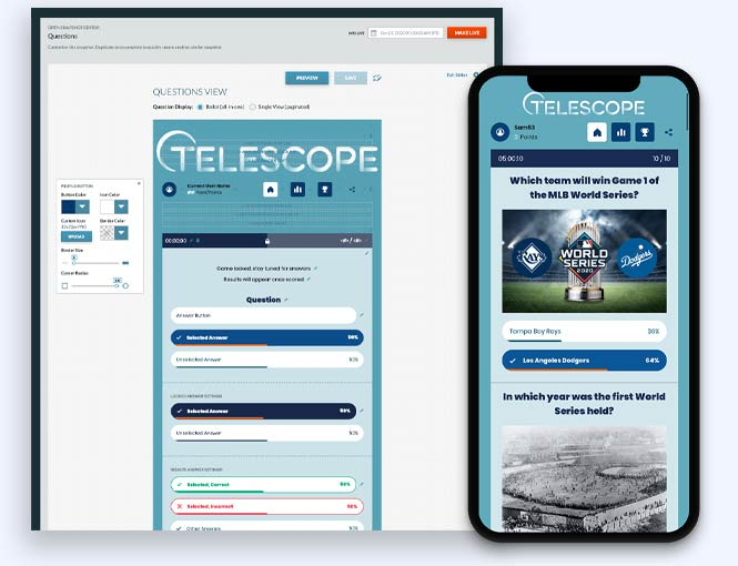 Telescope MLB Predictor