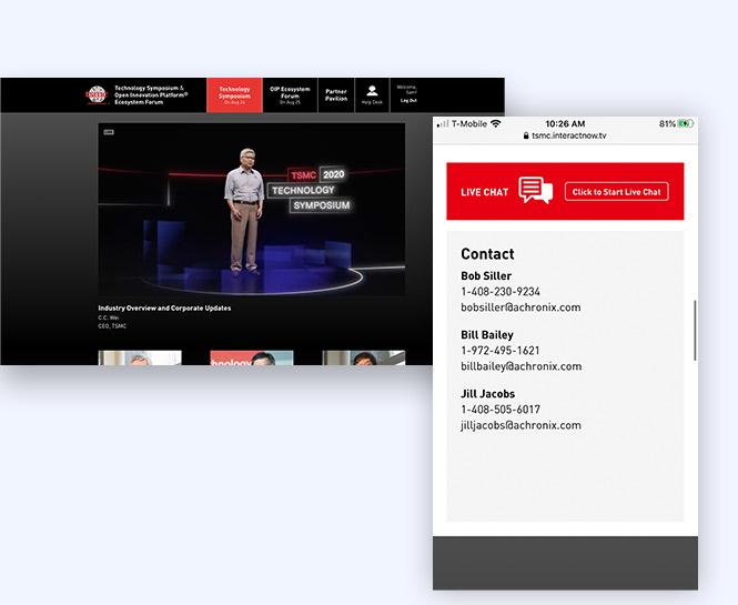 TSMC virtual event hub